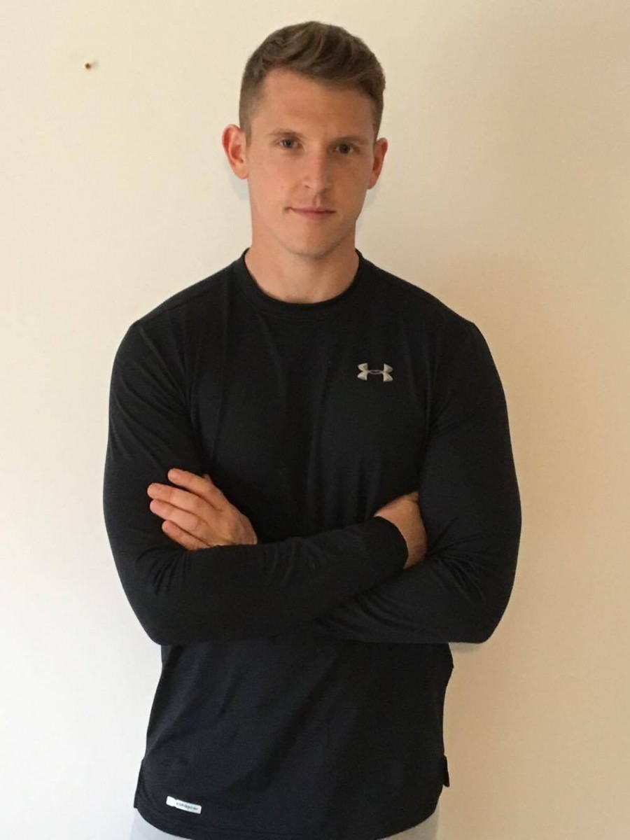 Liverpool Personal Trainer Tom Wellman after dropping body fat, weighing 12st 10lbs