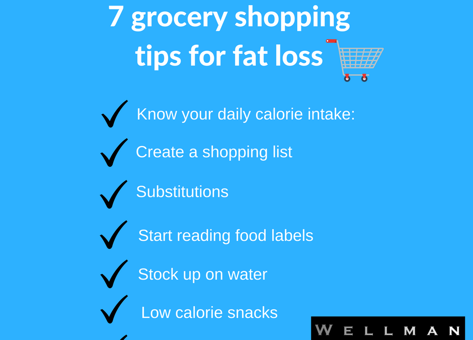 7 Grocery Shopping Tips For Fat Loss