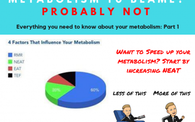 Are you guilty of blaming your 'slow' metabolism for not losing weight? Part 1