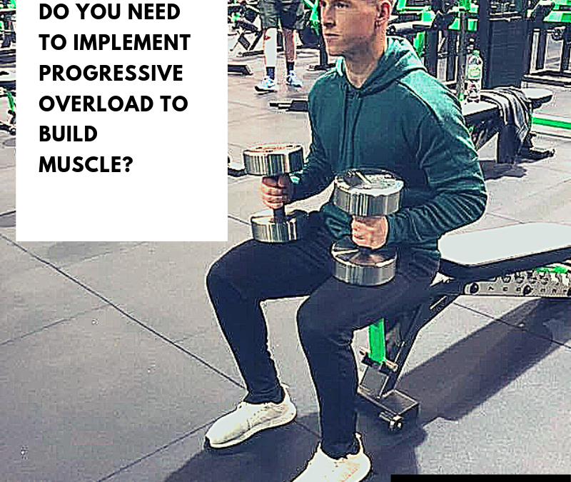 Do you need to implement progressive overload to build muscle?
