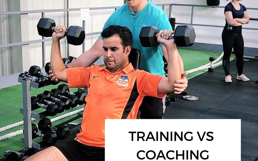 Training VS Coaching: The difference between having knowledge and applying it correctly