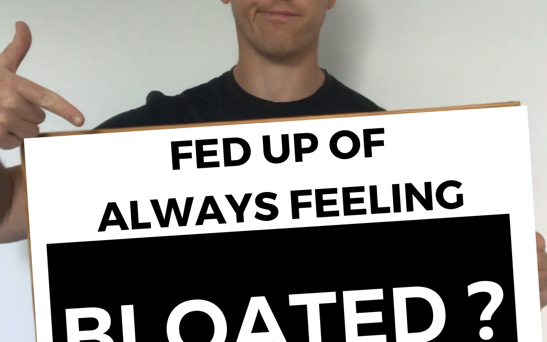 Fed Up Of Always Feeling Bloated?